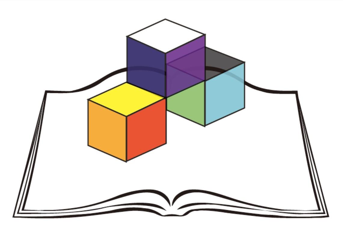 臺北考區105年國中教育會考試務會標誌 由臺北市立大直高級中學 林欣美老師設計