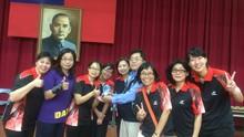 恭賀!本校教師女子桌球代表隊榮獲103學年度教育盃桌球比賽 教女組 團體冠軍